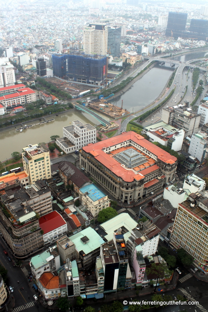 View of Saigon from Bitexco Financial Tower