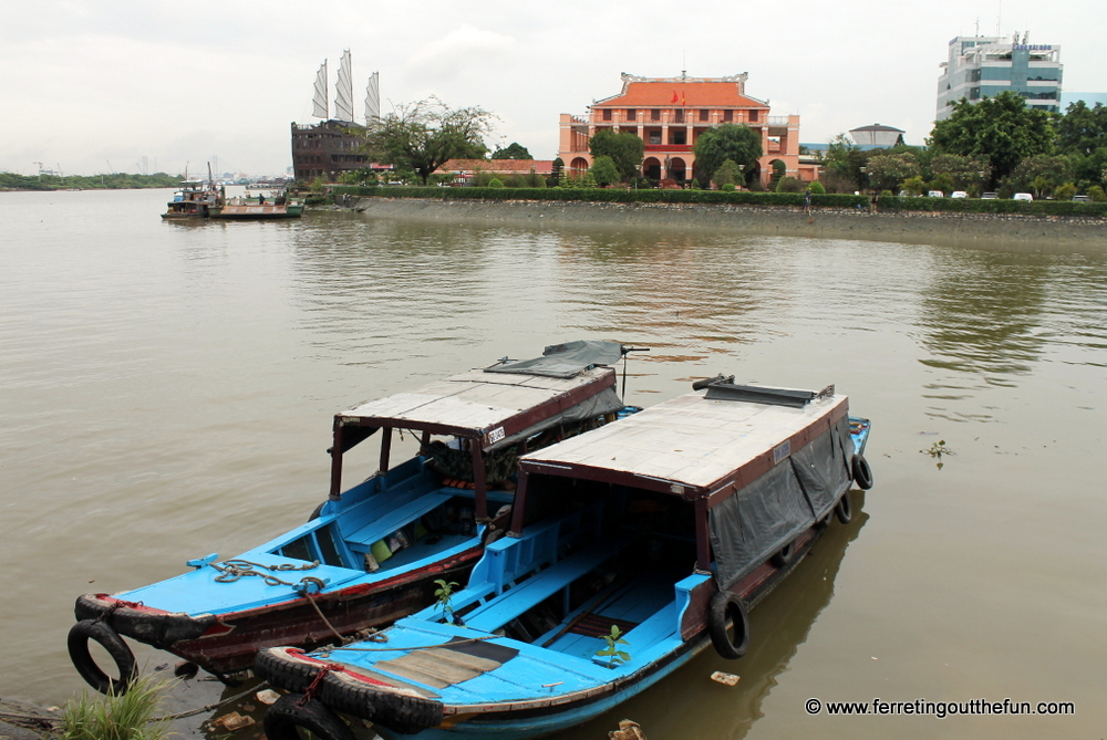 saigon river boat