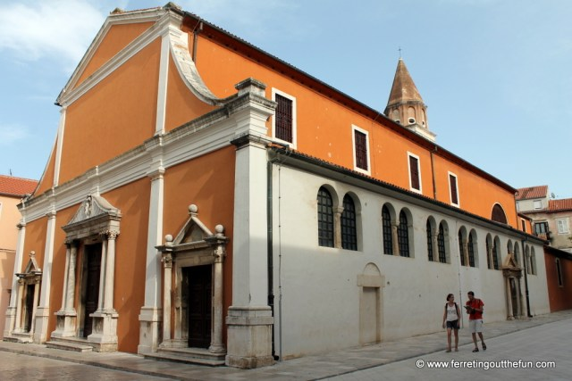 St Simeon's Church Zadar