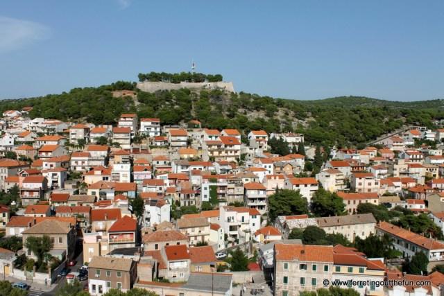 Sibenik Croatia Fortress