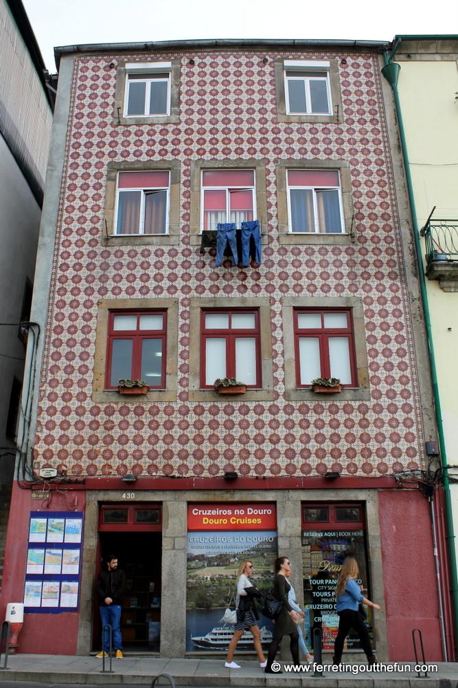 Street scene in Porto, Portugal