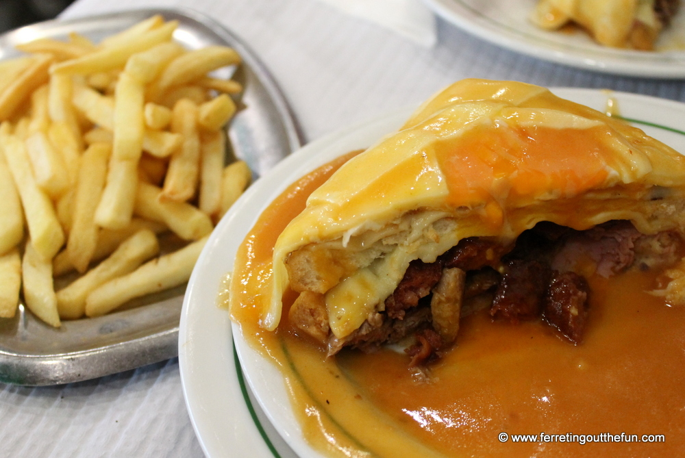 Francesinha sandwich Porto