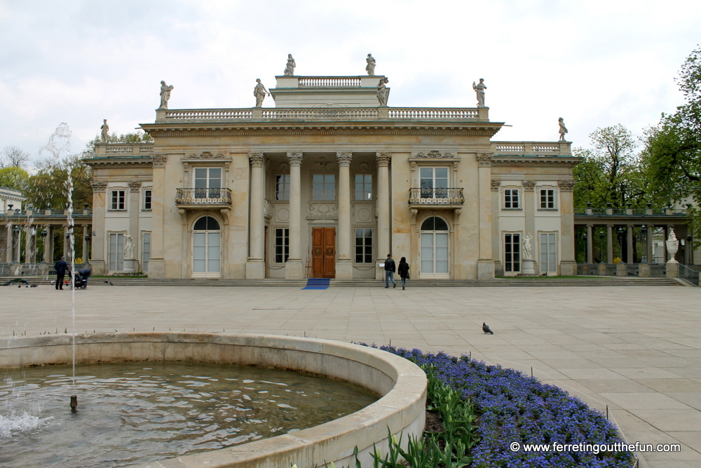 Lazienki Palace Warsaw