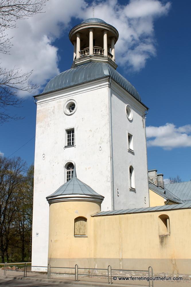 Medieval Krustpils Castle in Jekabpils, Latvia