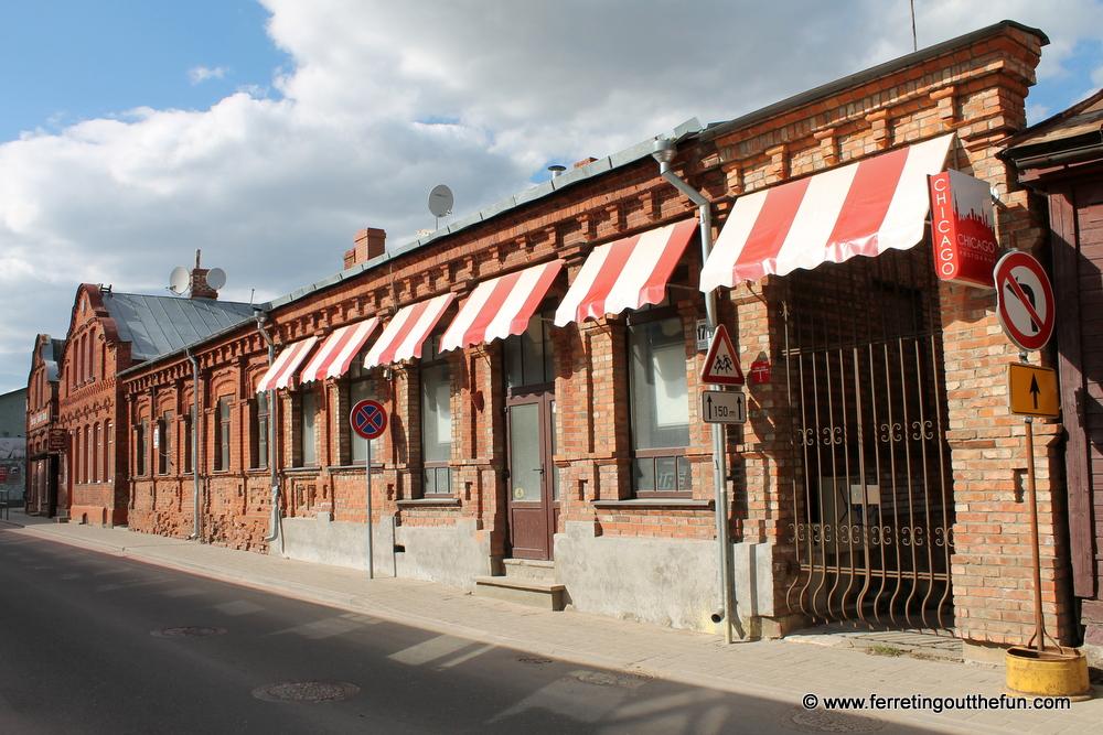 Jekabpils architecture