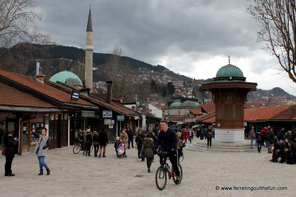 old town sarajevo bosnia