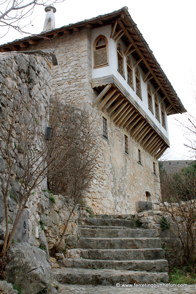 A Turkish style stone house in Pocitelj, Bosnia and Herzegovina