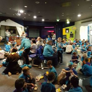 Can you spot us?It's supper time at the Beaver Deep Sleepover! #beavers #iscout