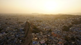 Sonnenuntergang über Jodhpur
