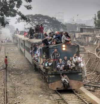 Welcher Platz im und am Zug könnte noch frei sein? Na?