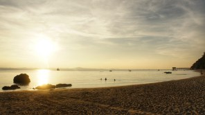 Sonnenuntergang auf Pulau Kapas