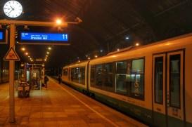 Die letzte Etappe auf meiner Reise: Fahrt mit dem trilex von Görlitz nach Dresden