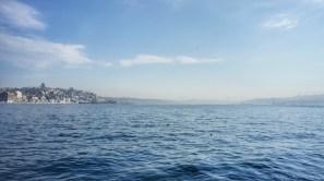 """Auf einen anderen Kontinent innerhalb weniger Minuten: Seit 2013 verbindet der Eisenbahntunnel """"Marmaray"""" die europäische und die asiatische Seite Istanbuls."""
