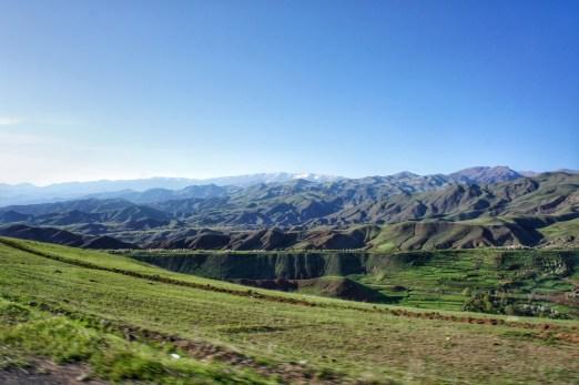 Unterwegs im Alamut Valley.