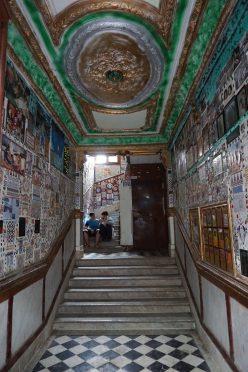 Blick in den Korridor eines während der französischen Kolonialzeit erbauten Wohnhauses