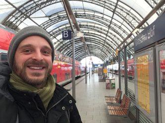 Wieder zurück: Ankunft in Dresden