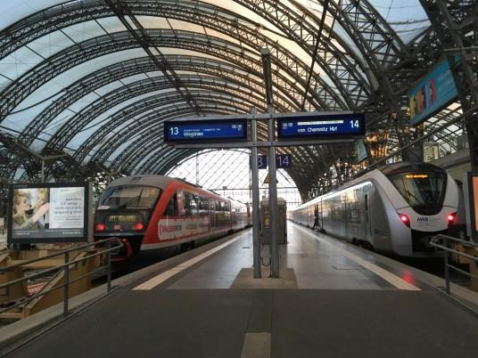 Start in Dresden: Die erste Etappe führt über Görlitz nach Wrocław/Polen.