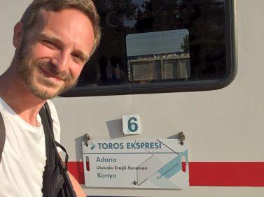 """Mit dem """"Toros Ekspresi"""" unterwegs auf der Baghdadbahn"""