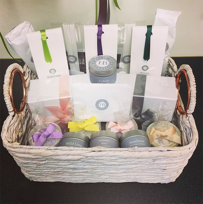 House of BlueBelle Gift Basket