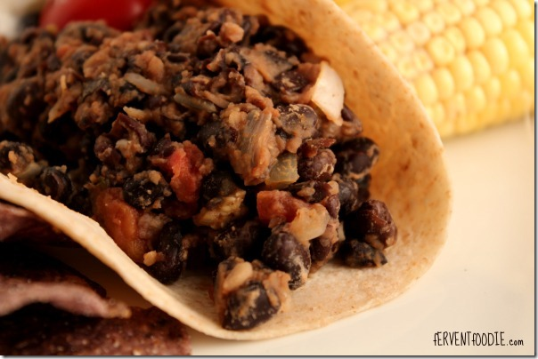 Easy Black Bean Burritos
