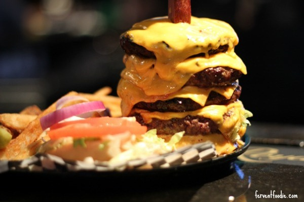 whisky river charlotte - 6 wide burger challenge