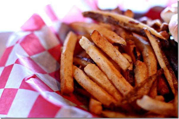 elwoods bbq hand cut fries
