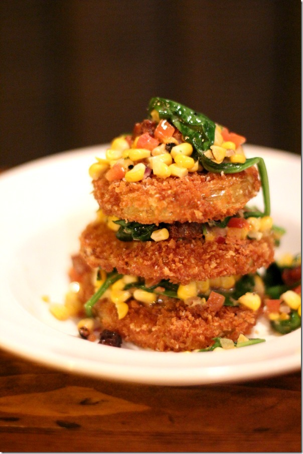 Flat Iron - Fried Green Tomatoes