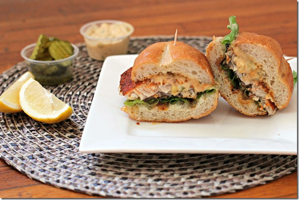 Healthy Catfish Poboy
