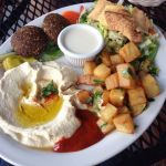 kabob grill veggie plate