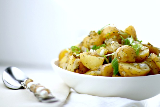 German potato salad vegetarian vegan gluten free recipe i wrote this post as part of a series for tasteful selections potatoes which is sponsoring katies krops through january 2016 details below forumfinder Gallery