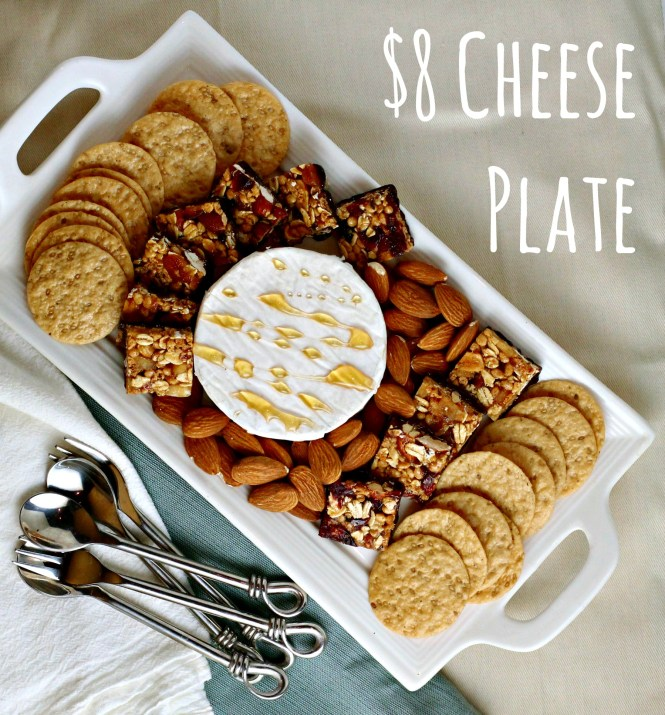 5-Minute Fancy Cheese Plate on a Budget {ferventfoodie.com}
