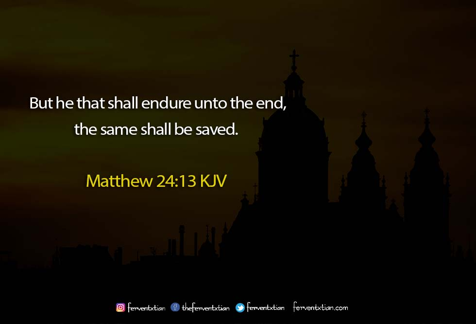 The Light Daily Devotional – Endure Till the End