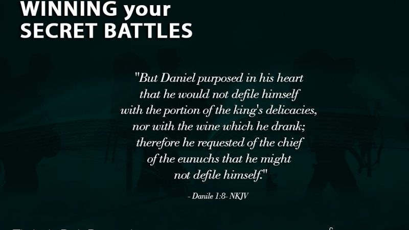 The Light Daily Devotional – Winning your Secret Battles