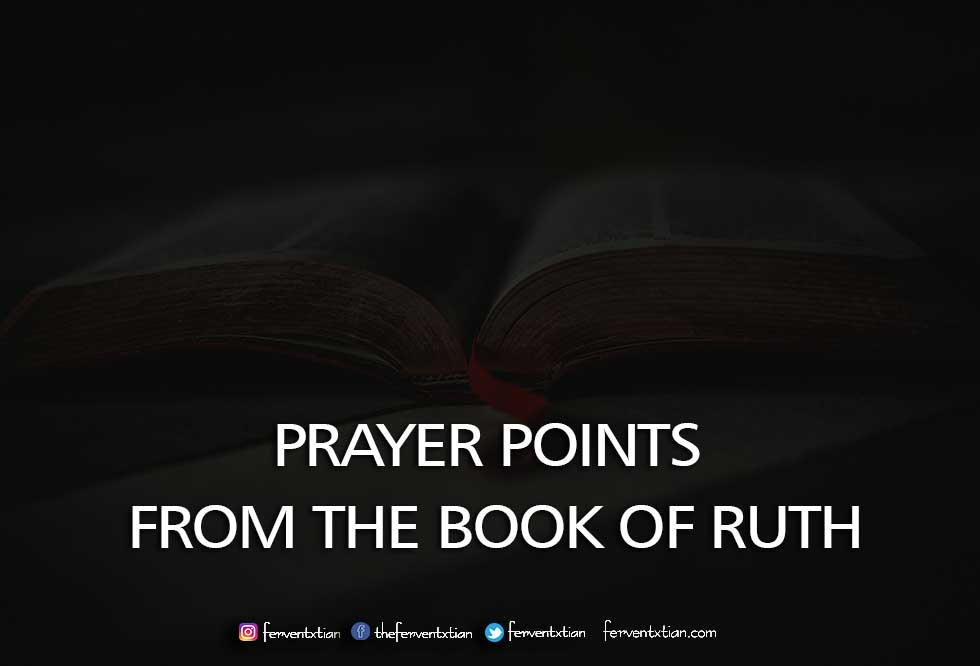 10 Prayer Points from the Book of Ruth