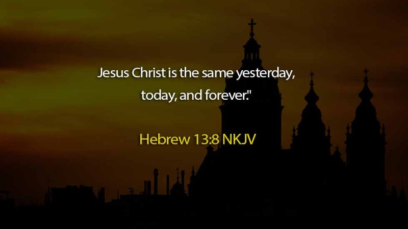 The Light Daily Devotional –  Jesus is Always the Same