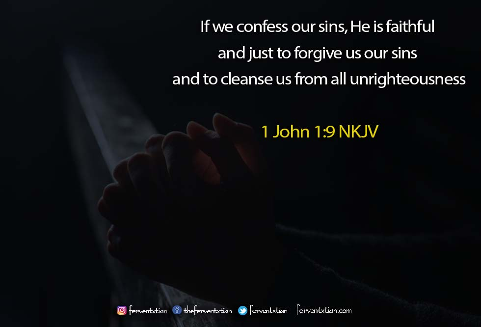 The Light Daily Devotional –  The Forgiveness of Sin