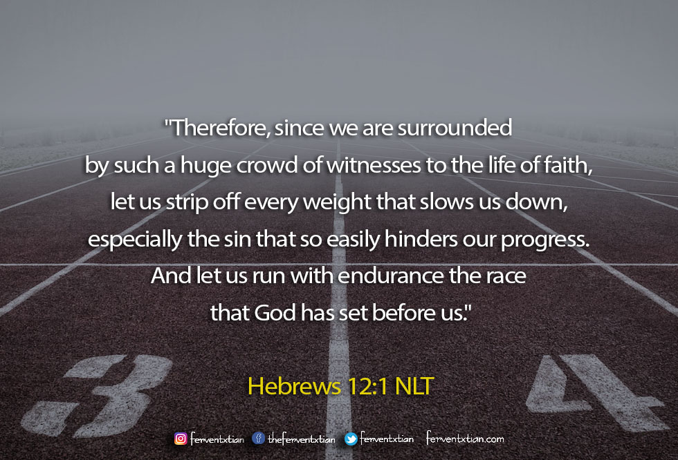 The Light Daily Devotional –  Life is a Race