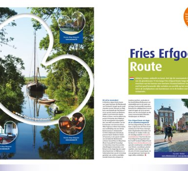 Bureau voor toerisme Friesland Holland pakt promotie Aldfaers Erf Route weer op
