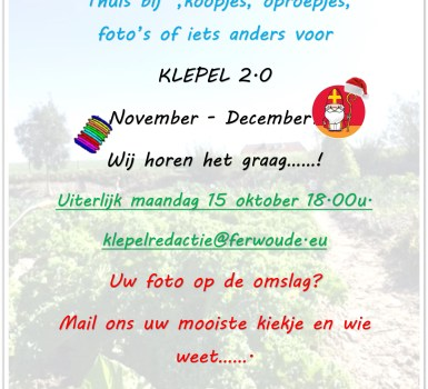 Reminder Klepel nov-dec