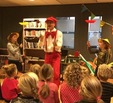 Clown Auke groot succes
