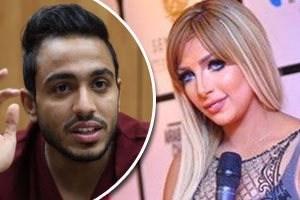 أظهر الخلاف بين المذيعة سارة خليفه وكهربا أنهما متزوجون سرا من 6 شهور