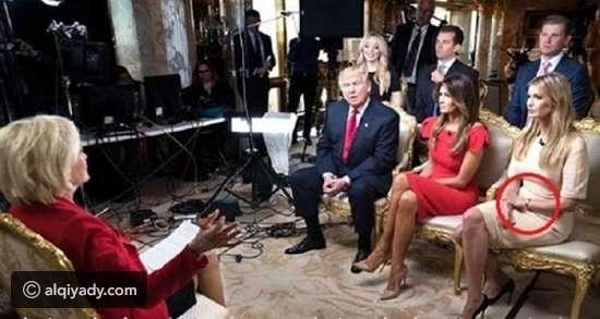 بالصور : تعرضت ابنة ترامب لموقف محرج في أول مقابلة تليفزيونة مع والدها
