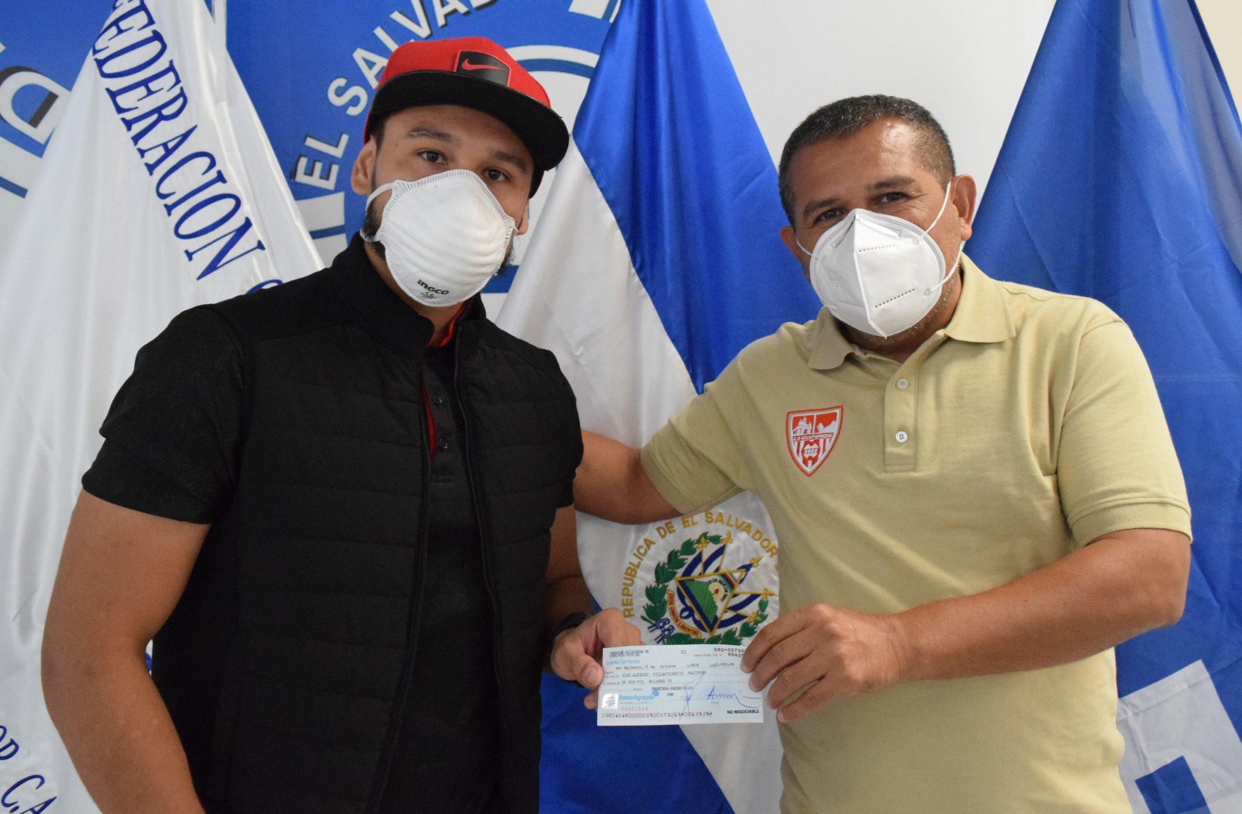 Señor José Villavicencio de Asociación Deportiva Internacional San Salvador, San Salvador