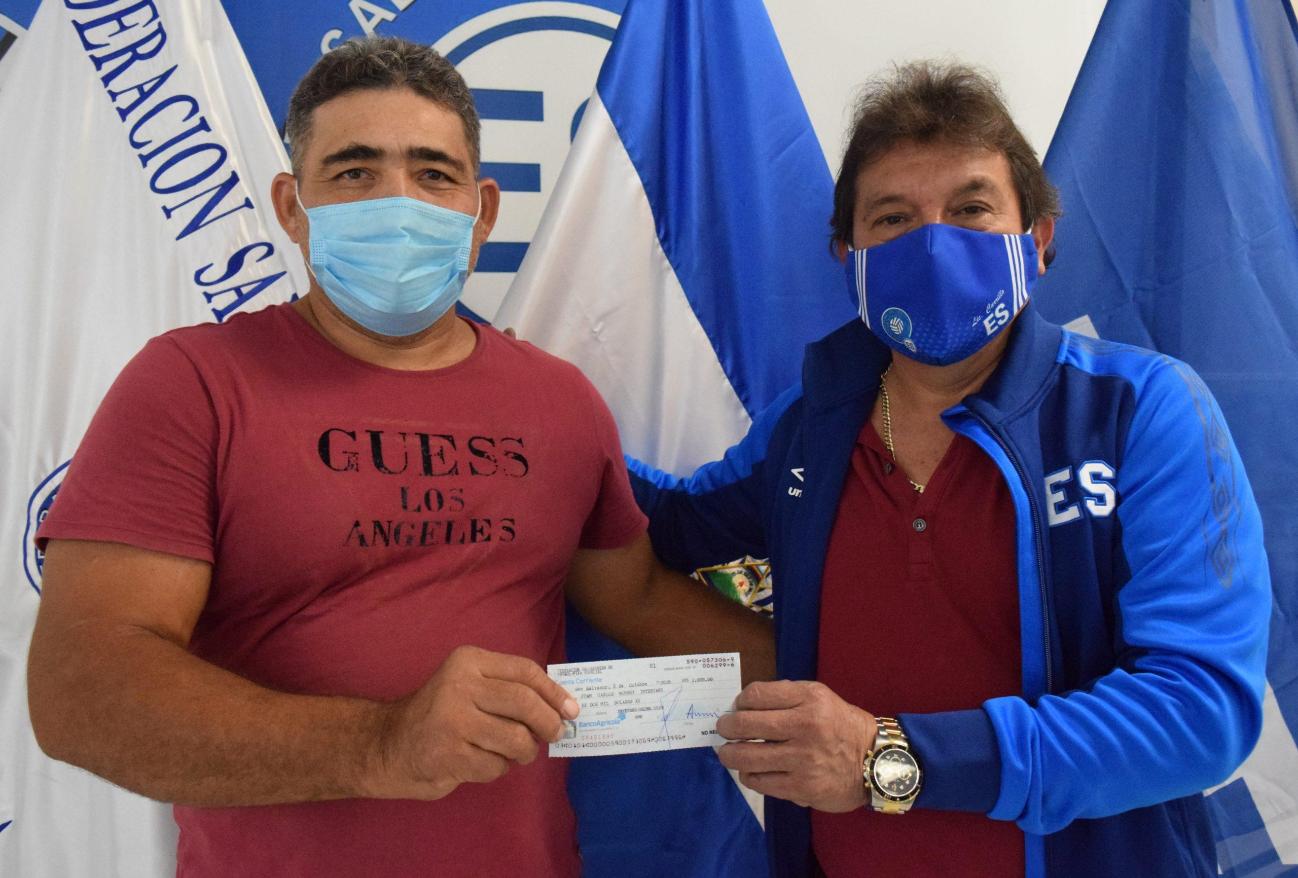 Presidente Juan Carlos Monroy de Club Deportivo Real Pajonal de San Antonio Pajonal, Santa Ana