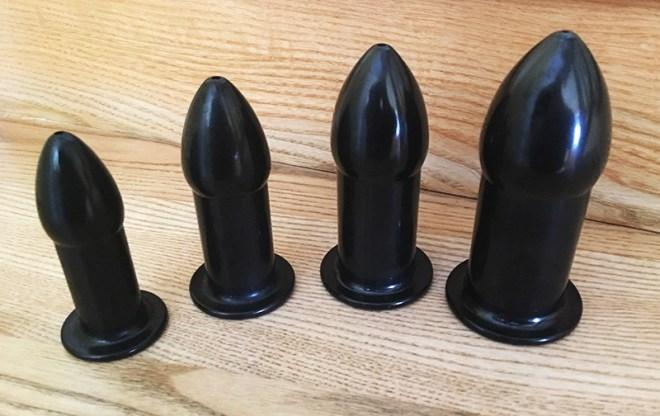 Buttplugs - Set zum Dehnen