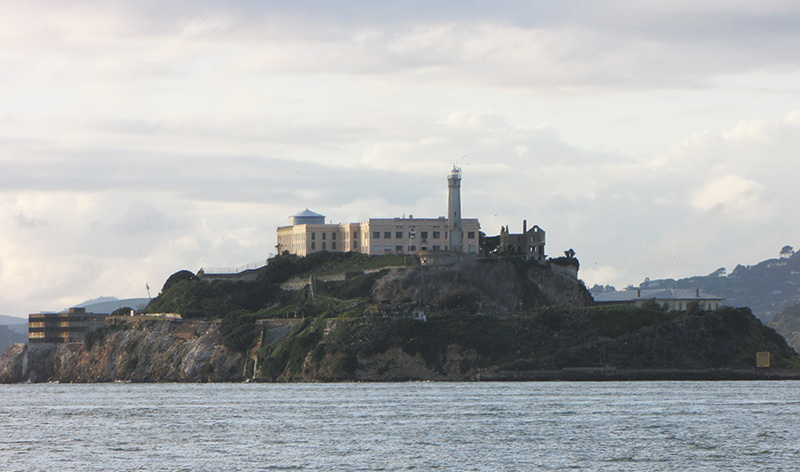 "Alcatraz ""The Rock"" Island - copyright 2019, fesselblog.de"