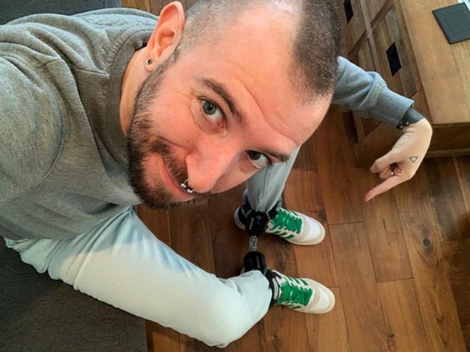 """Leg Cuffs by CutePlayToy - mit freundlicher Genehmigung von """"CutePlayToy"""""""