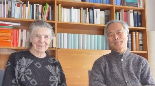Ilse Tödt und Keichi Minami