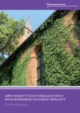 Titelseite Umweltkonzept EKBO