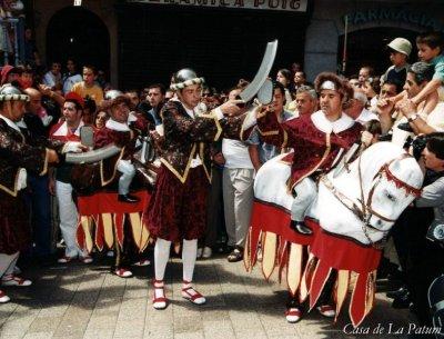 Berga - La Patum - Els Turcs i Cavallets (Foto: Casa de La Patum)